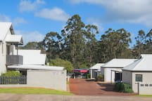 Villa Verde is located in a secure unit complex, behind the main street of Margaret River.