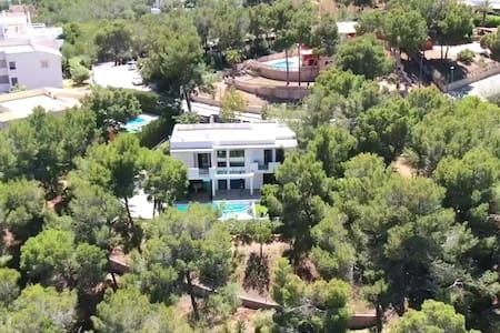Beach modern Mediterranean luxury Villa