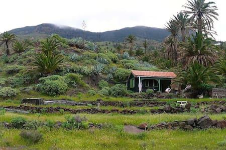 Cottage on private property in Tazo - Vallehermoso,La Gomera , Santa Cruz de Tenerife - Zomerhuis/Cottage