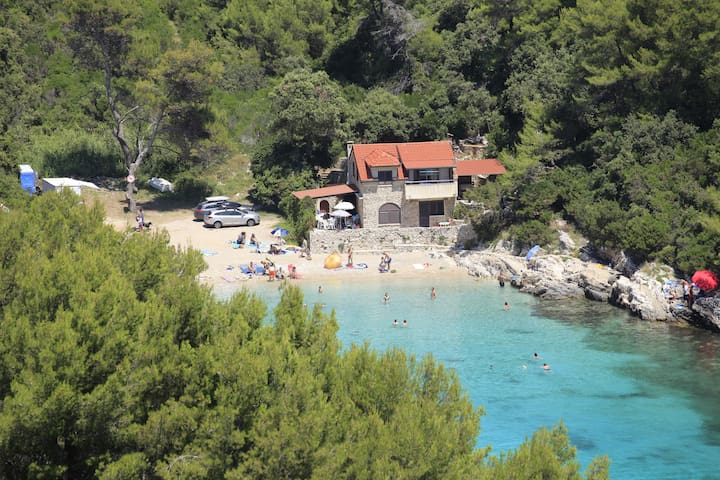 ***sandy beach apartment*** - Korčula - Daire