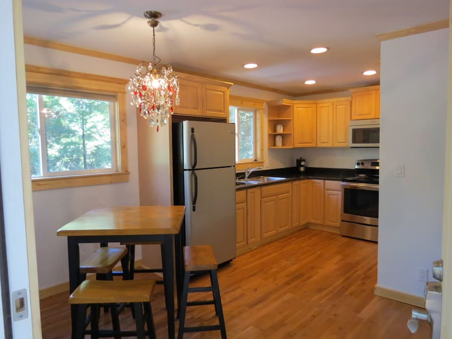 Spacious Kitchen, All New Appliances, Hickory Flooring Throughout