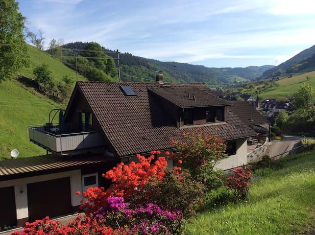 """Ferienwohnung :  """"Schwarzwaldblick"""" - Münstertal/Schwarzwald - Wohnung"""