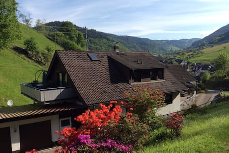 """Ferienwohnung :  """"Schwarzwaldblick"""" - Münstertal/Schwarzwald - Lakás"""
