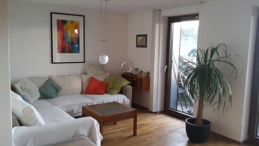 Wohnung mit Weitblick - Hattenhofen - Lägenhet