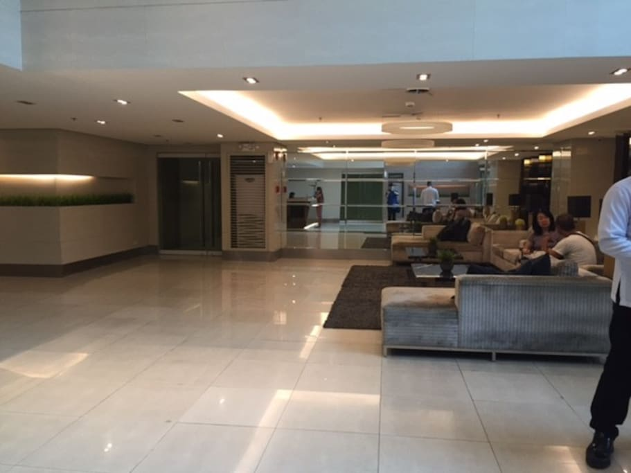 Lobby where we can meet and give you the key