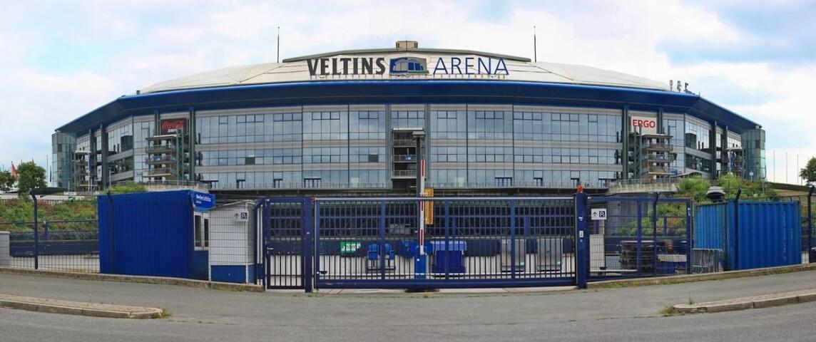 Schöne Wohnung nähe Veltins Arena & sport paradeis