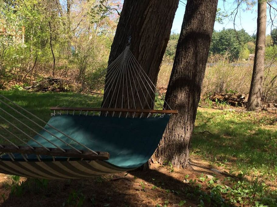 Take a nap in the hammock