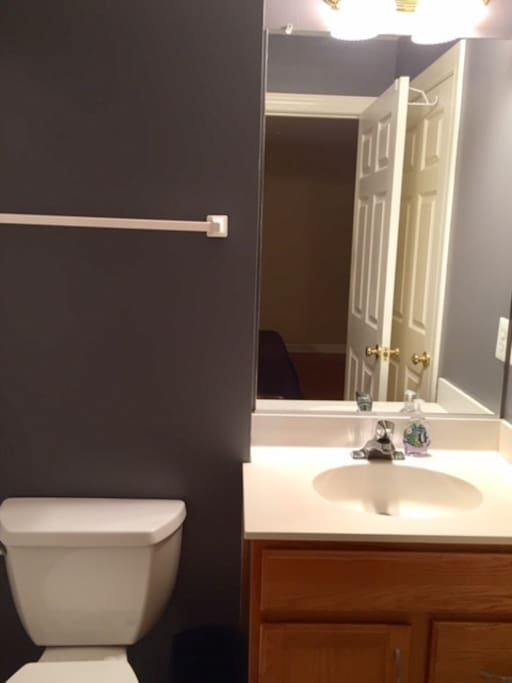 Full Bath with two door access