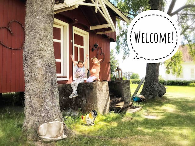 Charming Stabbur in Countryside 20 min from Oslo