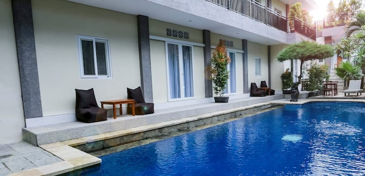 Pool Access Studio Room Near Echo Beach Canggu G4
