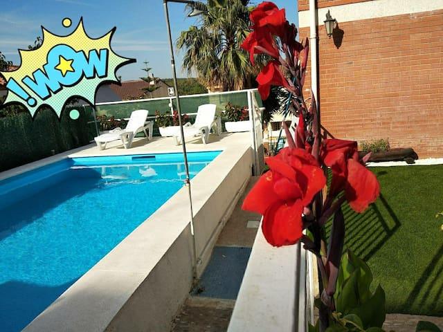 Beautiful House Costa Dorada-La Riera Pool&Garden