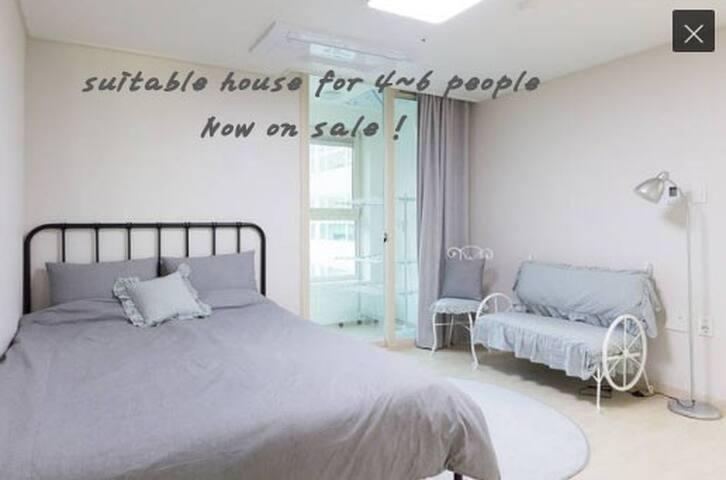 신축 20평 4~6인용 아파트 W HOUSE! - Saha-gu