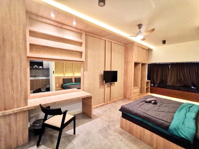 B 25th Floor Cozy Homestay Imperio