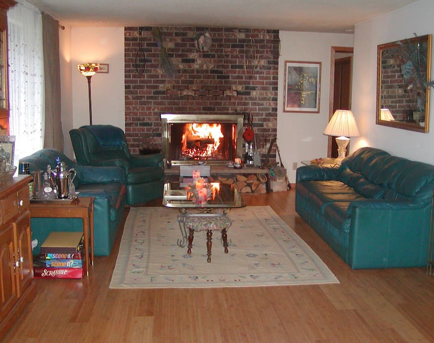 The main living room of the Lodge.