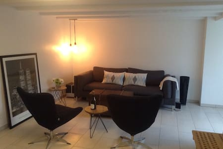 Lovely apartment with beach acces - Køge