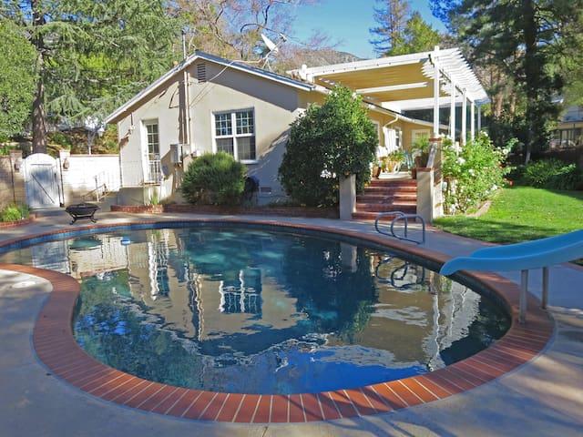 Canyon Getaway 1 BR Sleeps 2, Pool - La Crescenta-Montrose