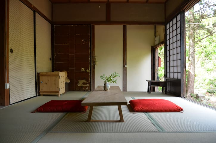 Eco conscious house in nature- authentic Japanese