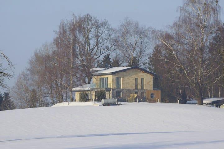 Exklusives Landhaus, Schwimmteich, Berg-/Seeblick - Hohenweiler - Leilighet