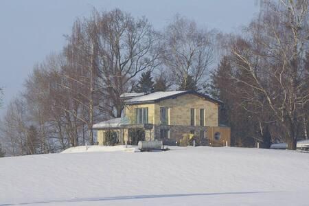 Exklusives Landhaus, Schwimmteich, Berg-/Seeblick - Hohenweiler
