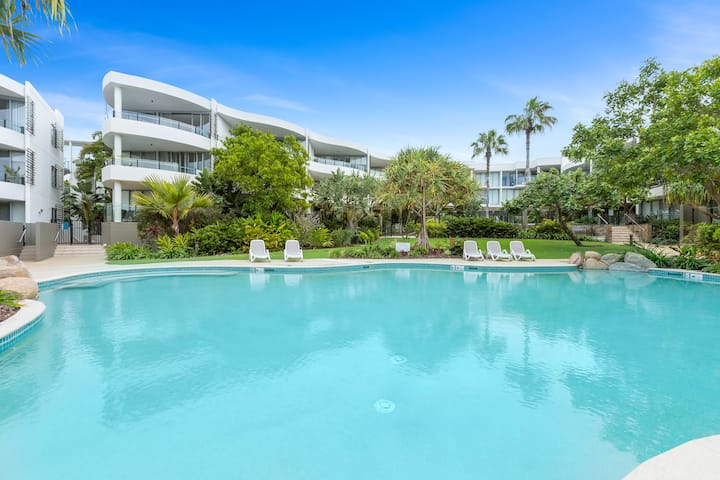 Beachfront Cotton Beach Apartments in Casuarina