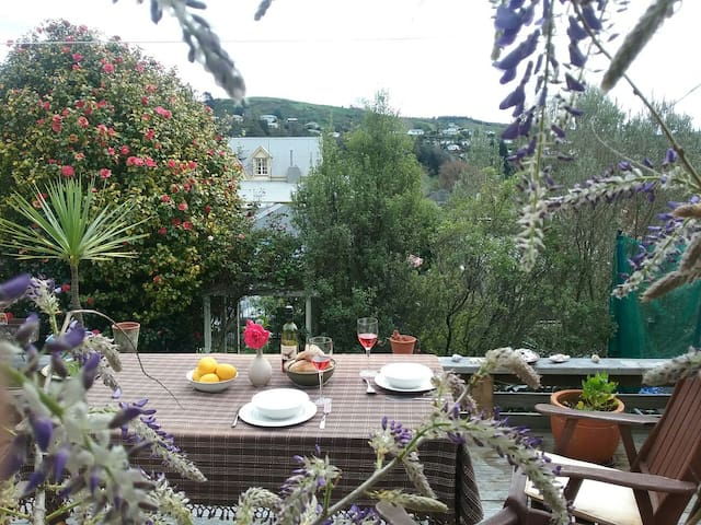 Sunny home with lovely views and walks - Nelson