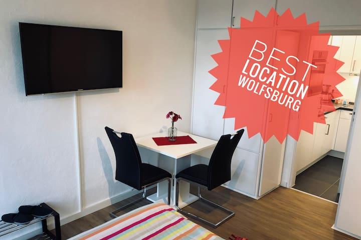 Neue moderne Wohnung in Wolfsburgs zentraler Lage