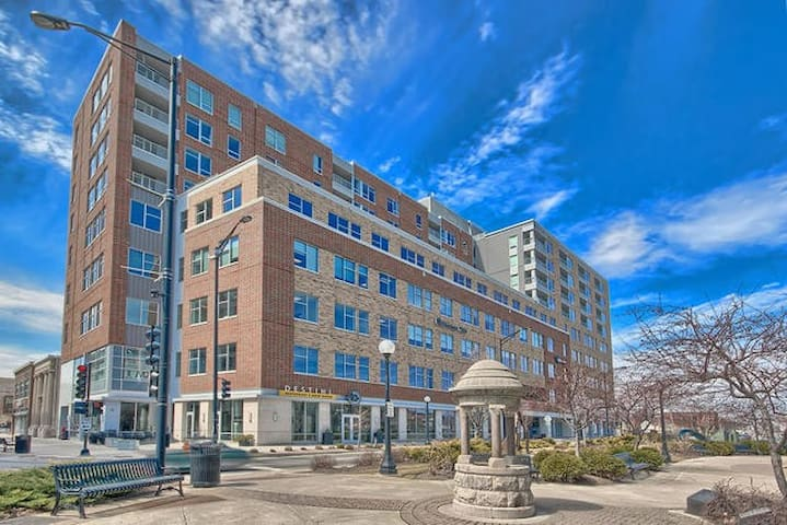 Luxury Downtown 2 bed 2 bath Condo!