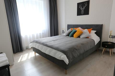 Cómodo apartamento de 2 habitaciones en Kaunas