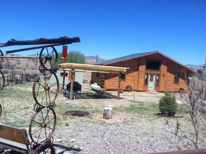 "Little log cabin on the Gila ""The Gatehouse """