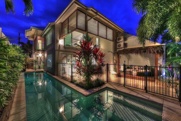 Deja Vu, 3 Kings 13 Mtr Heated Pool - Palm Cove - Haus
