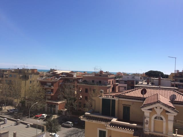 Roma: cosy studio flat with seaview - Lido di Ostia - Apartament