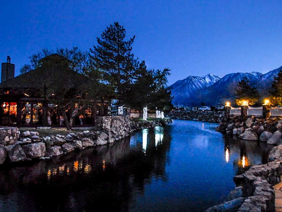 Sit in the springs and enjoy the Sierra stars. Your spa entrance fees are included (a $30 per person per day value)!