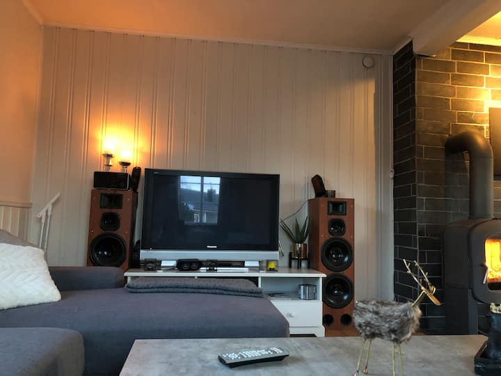 Hus med landlig begivenhet nær Trondheim
