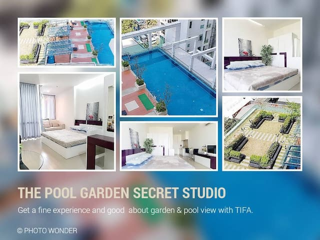 THE POOL GARDEN SECRET STUDIO /SHOPPING