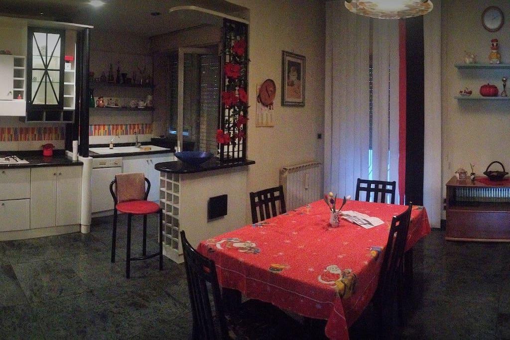 Cucina/soggiorno abitabile