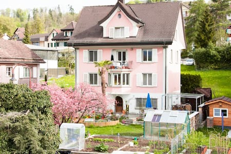 BnB Garden View Room East Uetikon - Uetikon am See - Bed & Breakfast