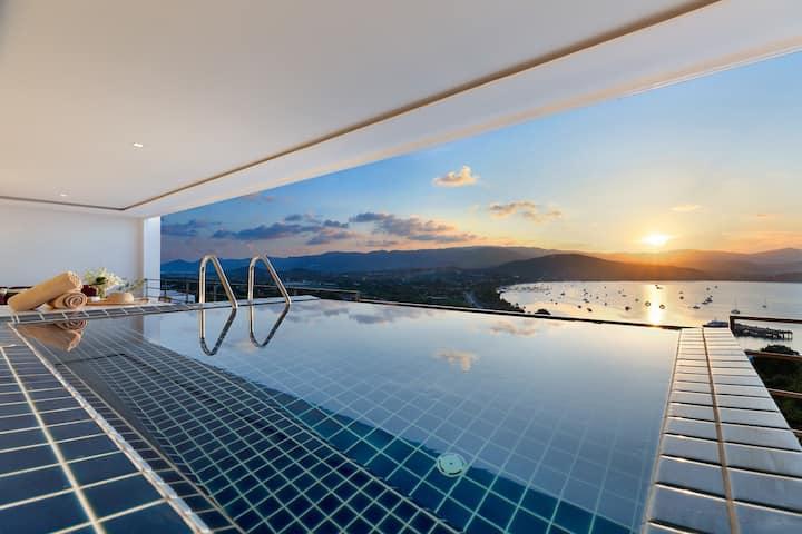 Luxury Sea View Penthouse L @ uniQue Residences