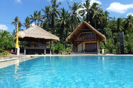 Cottage Sawah, traumhaftes Ost-Bali - amlapura - Bed & Breakfast