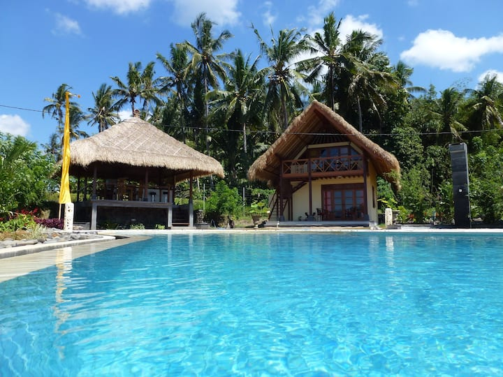 Cottage Sawah, traumhaftes Ost-Bali