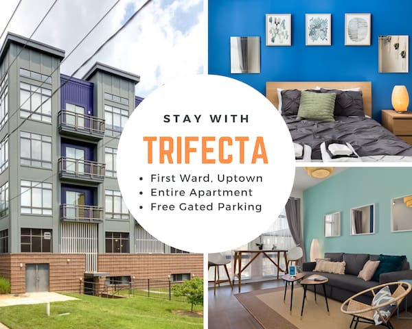 Trifecta ★ Rooftop Terrace City Views ★ Superhost