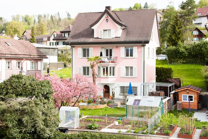 BnB Garden View Room West Uetikon  - Uetikon am See - Bed & Breakfast