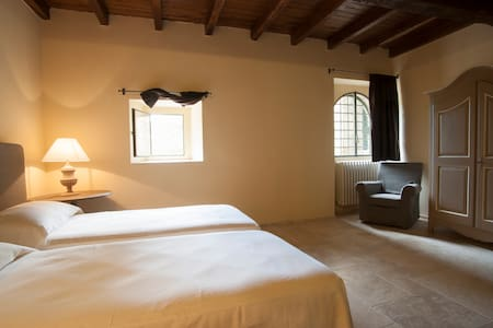 Agriturism Folesano Room Deluxe - Marzabotto - 城堡