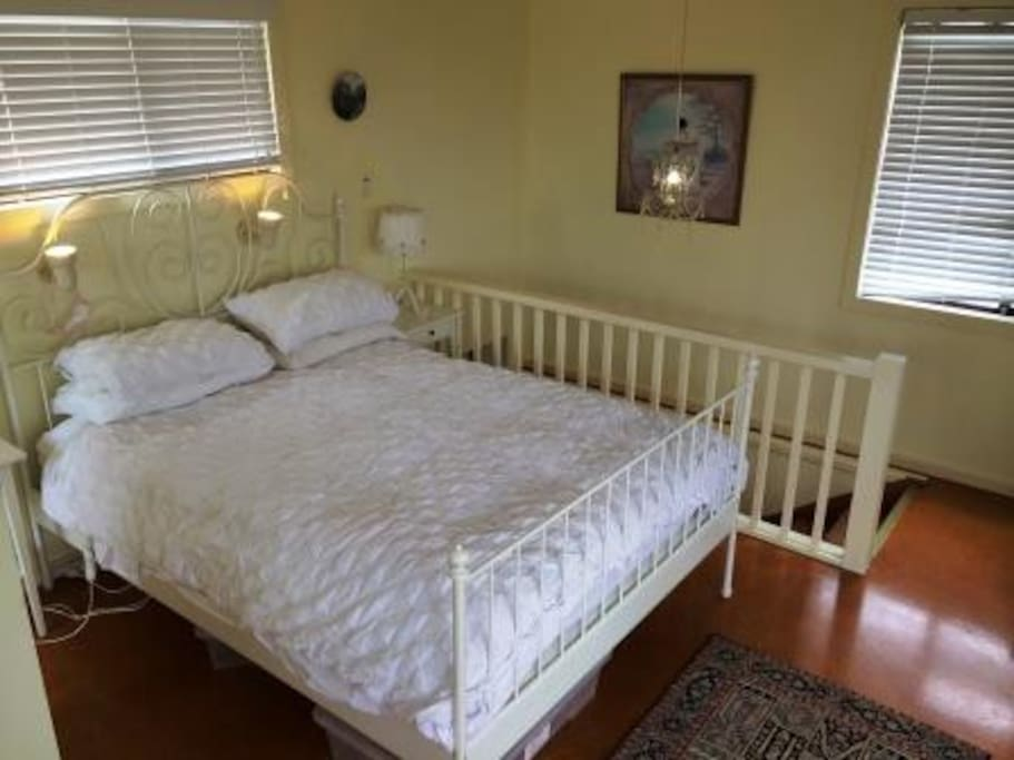 Third bedroom upstairs.