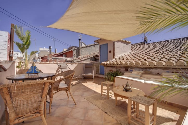 BEACH+Luxury-Terrace-WIFI-Location! - Valence - Maison