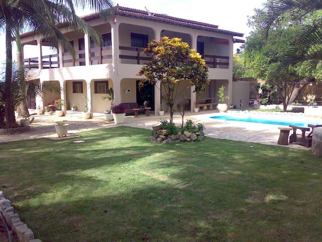 Fantastic House with Beach & Lagoon - João Pessoa - Casa