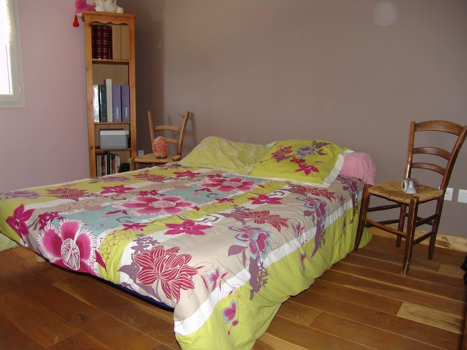 Chambre avec lit double N°2
