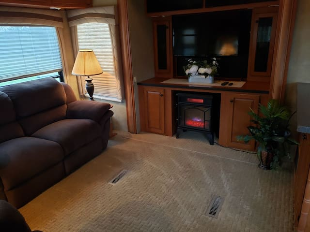 Large Luxury RV in the country