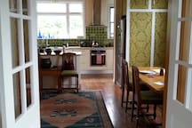 Dining and kitchen you are welcome to use
