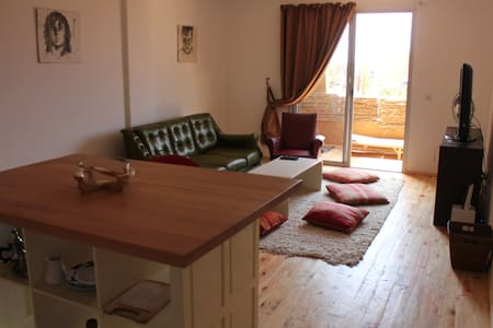 Comfortable flat beach front - Imi Ouaddar - Apartment