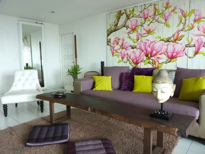 Top view!!center of bkk!room Orchid